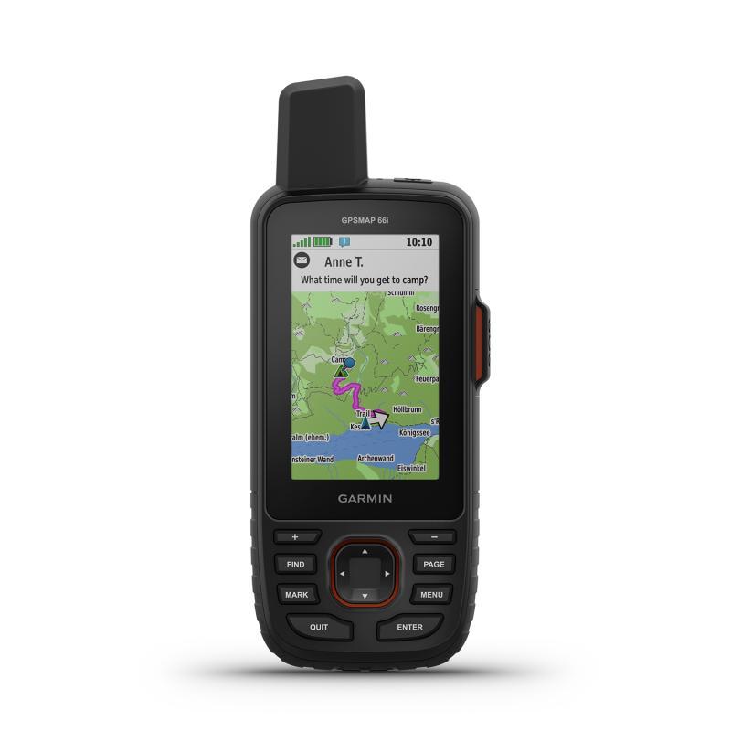 GPSMAP 66i   GPS handheld and satellite communicator