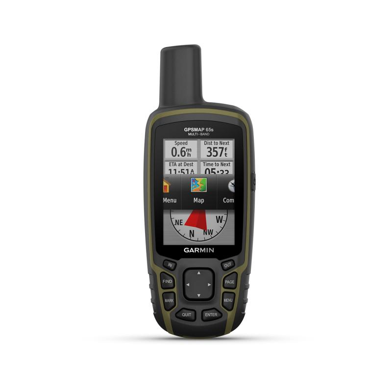 GPSMAP® 65s l Multi-Band/Multi-GNSS Handheld with Sensors