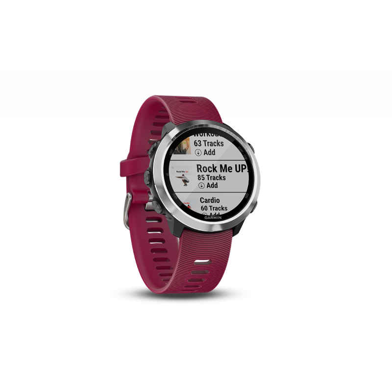 Forerunner® 645 Music , With Cerise Coloured Band