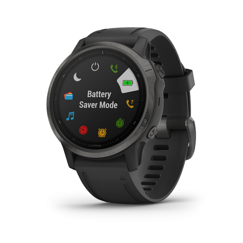 fēnix 6S - Pro editions Black with Black band, GPS watch, EMEA