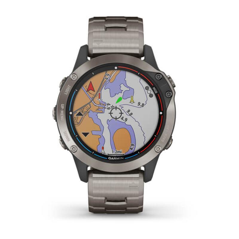 quatix® 6 Titanium | Titanium Grey with Titanium Band