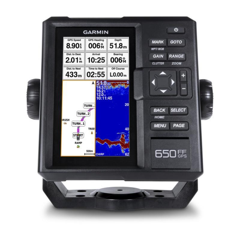 Fishfinder 650 GPS